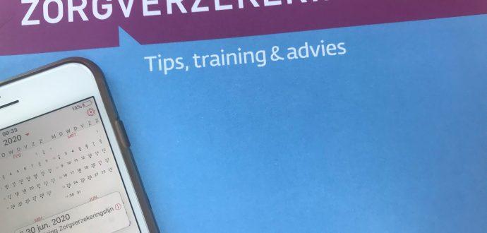 training oplossen premie achterstand